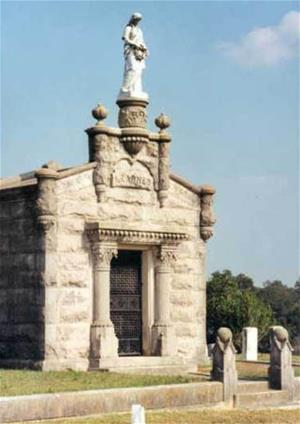 Learned Family Mausoleum at Natchez City Cemetery